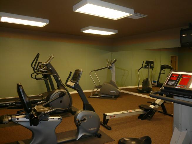 Appartement Bay Point - Salle de fitness